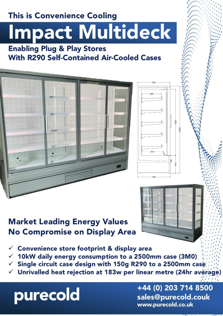 New UK Product Launch: Impact R290 Multideck